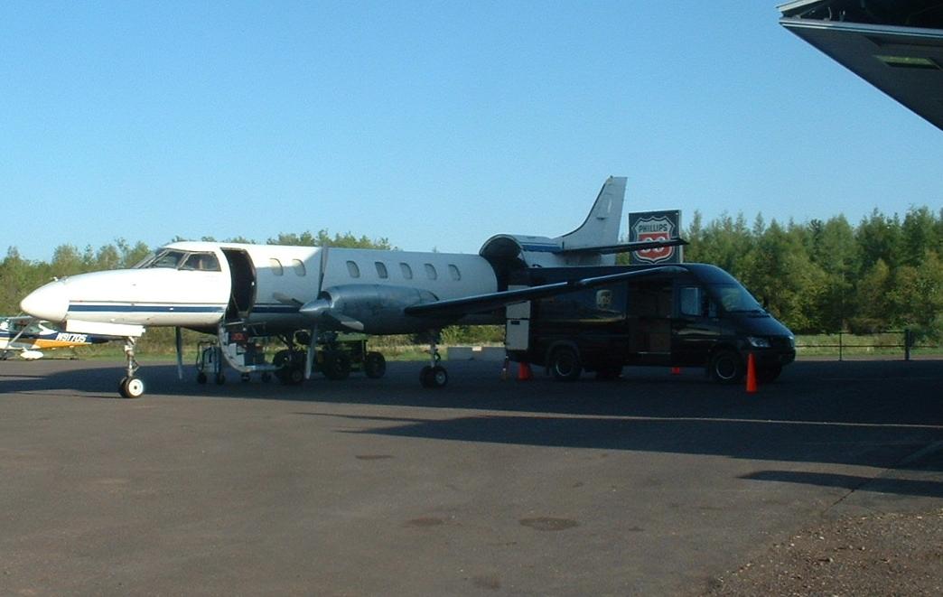 UPS Plane